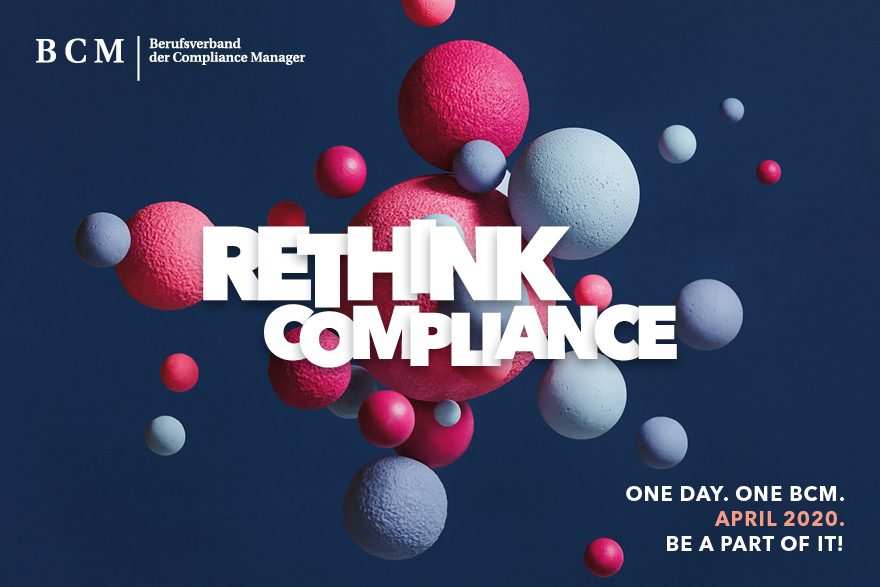 Rethink Compliance. One Day. One BCM.